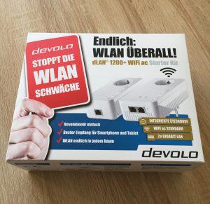 dLAN 1200+ Verpackung