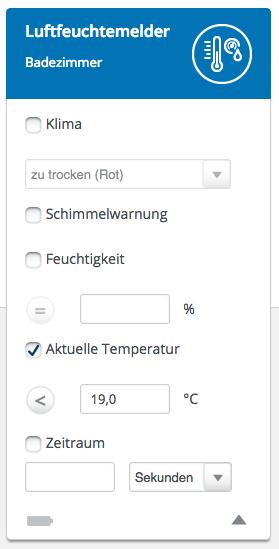 Devolo Temperatur